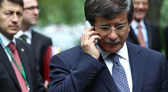Davutoğlu'ndan Kılıçdaroğlu'na geçmiş olsun telefonu
