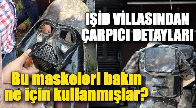IŞİD villalarından çarpıcı detaylar