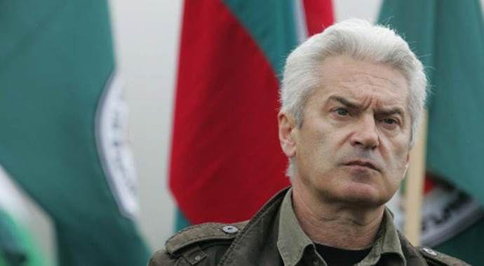 Bulgaristan'da ırkçı lidere protesto