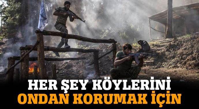 Türkmenlerden katil Esad rejiminin saldırılarına karşı 'özel tim'