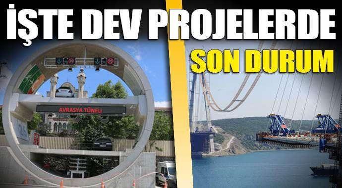 Dev projelerdeki son durum!