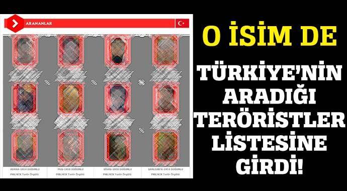 Fetullah Gülen'in adı teröristlerle aynı listede!