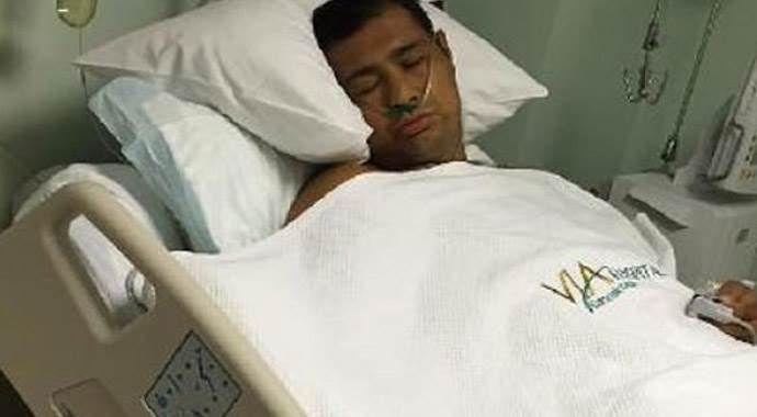 Sinan Şamil Sam için herkes hastaneye koştu!