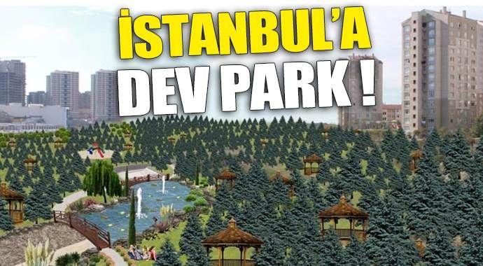 TOKİ'den İstanbul'a 1.5 milyon metrekarelik dev park