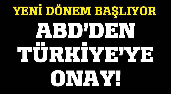 ABD'den Türkiye'ye silah satışına onay çıktı!