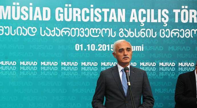 MÜSİAD Gürcistan şubesi açıldı