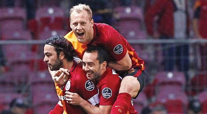 Galatasaray, Eskişehir'e fark atıp moral depoladı