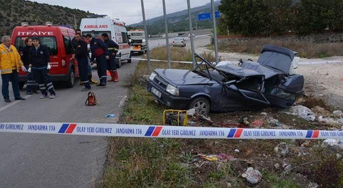 Çorum'da korkunç kaza, 2 kişi hayatını kaybetti