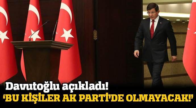 Başbakan Ahmet Davutoğlu: Bizi tehdit ettiler