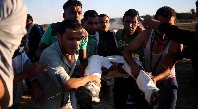 İsrail askerleri Gazze'de ateş açtı! 3 Filistinli yaralı