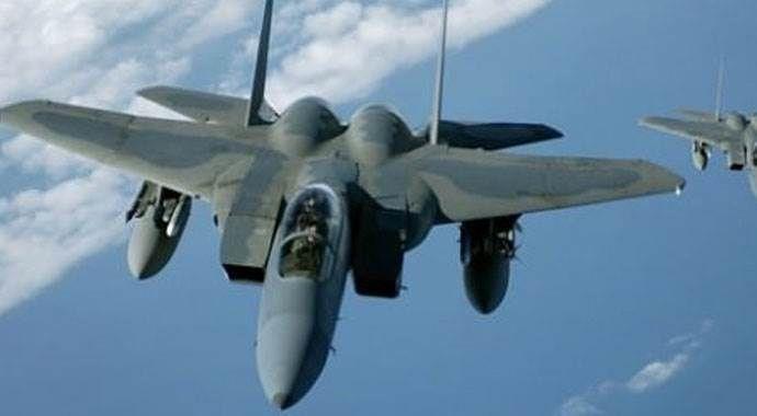 İsrail uçaklarına büyük tepki