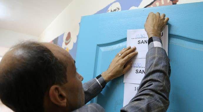 Başkent'te ilk oylar kullanıldı