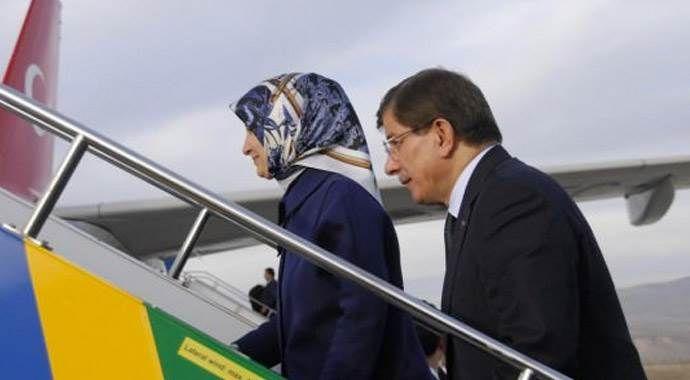 Başbakan Davutoğlu Konya'ya gitti