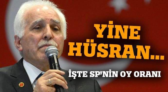 Mustafa Kamalak hüsrana uğradı