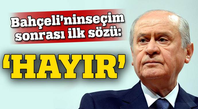 'Bahçeli istifa etti' iddiasına MHP'den cevap
