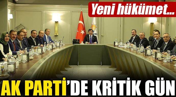 AK Parti'de kritik gün! Yeni hükümet...