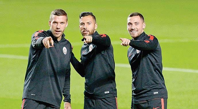 Podolski, son 4 sezonun en başarılı istatistiğine ulaştı