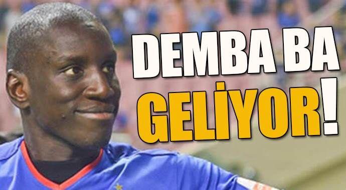 Demba Ba'dan Galatasaray'a yeşil ışık!