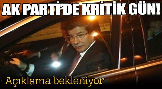 AK Parti'de kritik gün!