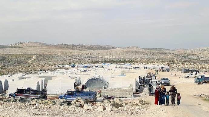 Suriye'de çadır kente saldırı: 6 ölü