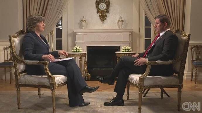 Başbakan Davutoğlu, CNN'e konuştu