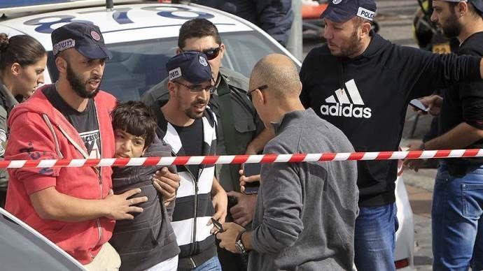 İsrail polisi Filistinli çocuğu vurdu