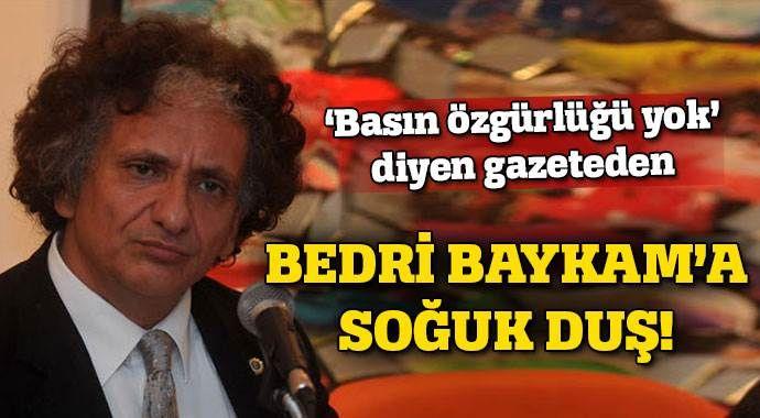 Cumhuriyet Gazetesi'nden Bedri Baykam'a sansür