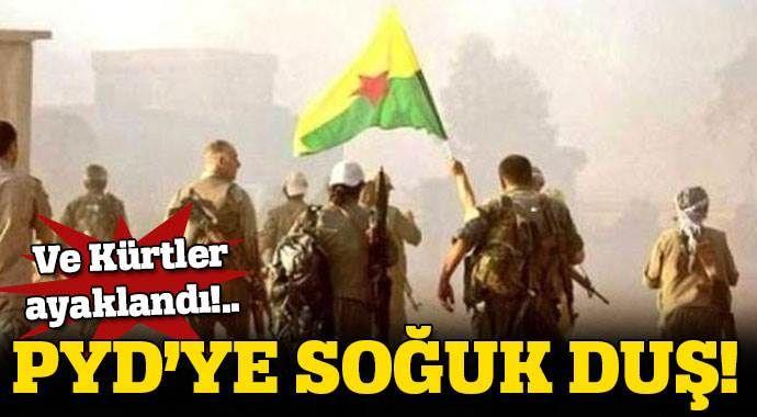 PYD'nin baskılarından bunalan Kürtler sokaklara döküldü