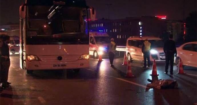 E-5'de feci kaza, 1 kişi hayatını kaybetti