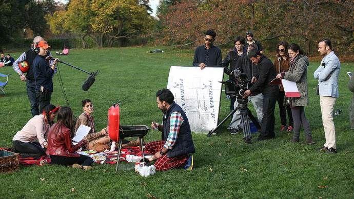 ABD'deki Türkler'in çektiği 'New York Masalı' filminde sona gelindi