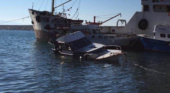 14 kişinin ölümüne yol açan tekne limanda getirildi