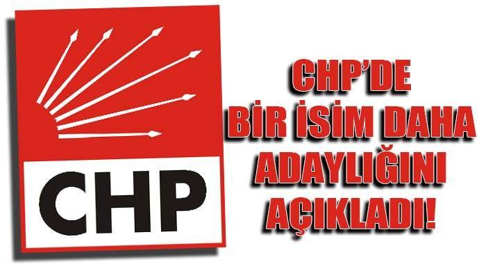 Balbay, CHP Genel Başkanlığı'na adaylığını açıkladı!