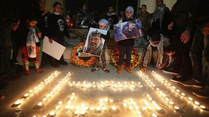 Arafat ölümünün 11'inci yılında anılıyor
