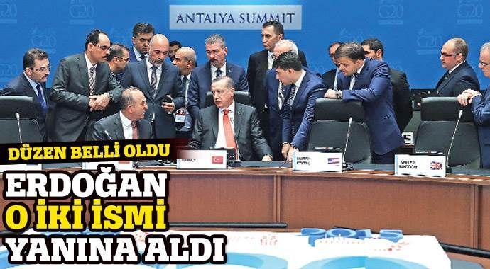 G-20'de oturma düzeni netleşti