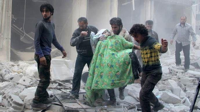 Rus hava saldırısında 10 sivil hayatını kaybetti