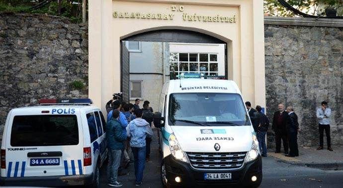 Galatasaray Üniversitesinde korkunç ölüm!