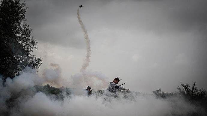 Batı Şeria'da 88 Filistinli yaralandı