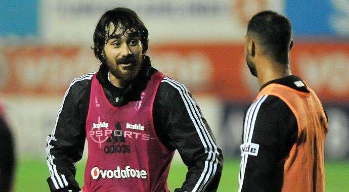 Beşiktaş'ta Veli Kavlak sevinci