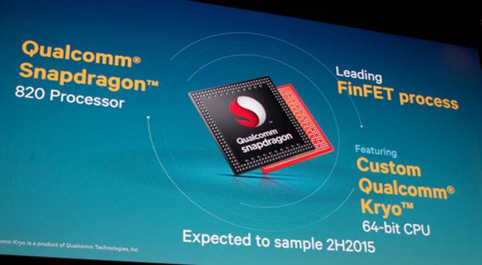 Snapdragon 820 tanıtıldı