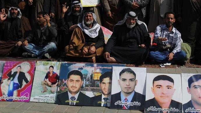 Irak'taki 'Spyker katliamı'nda 52 kişinin kimliği tespit edildi