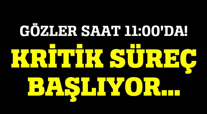 1 Kasım sonuçları YSK tarafından saat 11:00'da açıklanacak