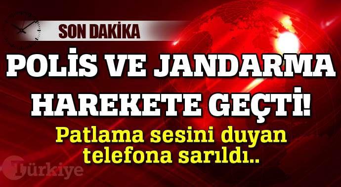 Bursa'da patlama sesini duyan telefonuna sarıldı!