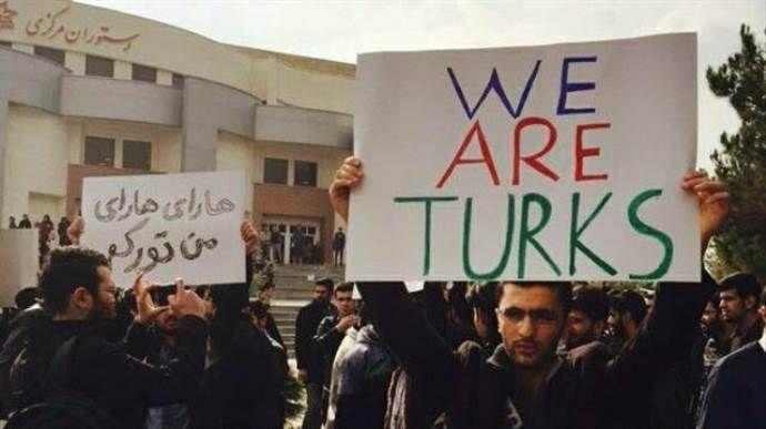 İran'da yaşayan Türkler ırkçılığa isyan ediyor
