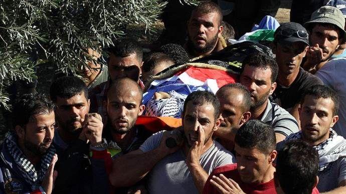 İsrail polisinin öldürdüğü Şelalide'nin cenazesi toprağa verildi