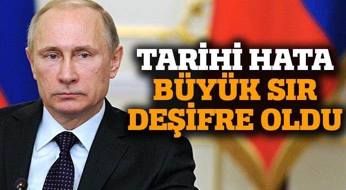 Rus kanalları yanlışlıkla 'gizli belgeyi' yayınladı