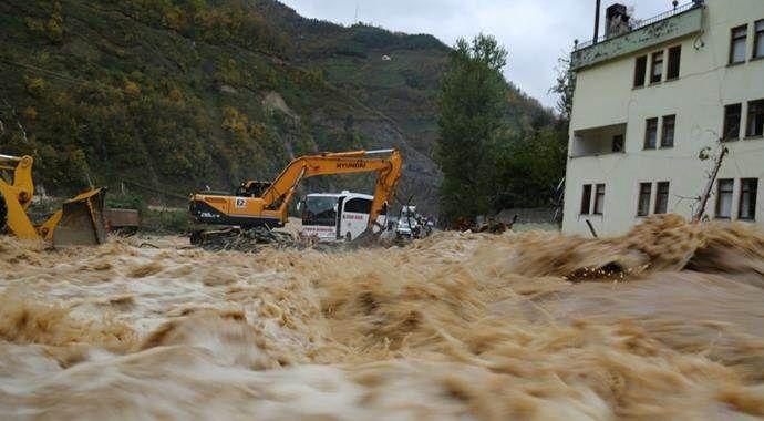 Artvin'de sel felaketi sebebi ile bir kişi daha öldü