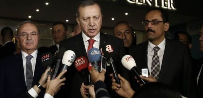 Erdoğan onun randevu isteğini reddetti