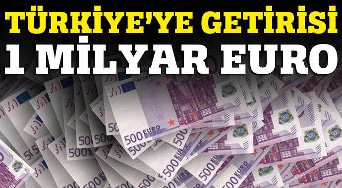 G-20'nin Türkiye'ye getirisi 1 milyar Euro olacak