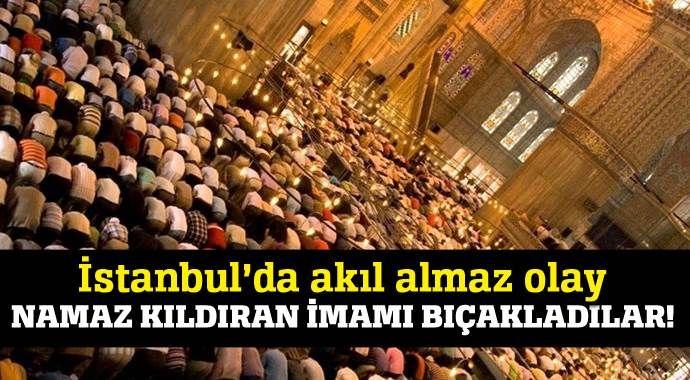 Sultangazi'de imama bıçaklı saldırı