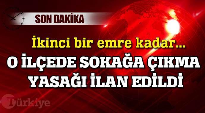 Mardin'in Nusaybin ilçesinde sokağa çıkma yasağı ilan edildi